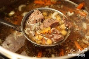 Суп из баранины с нутом - фото шаг 6