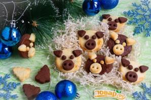 """Печенье """"Поросята"""" на Новый год - фото шаг 6"""