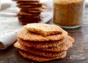 Хрустящее печенье с кунжутом - фото шаг 6