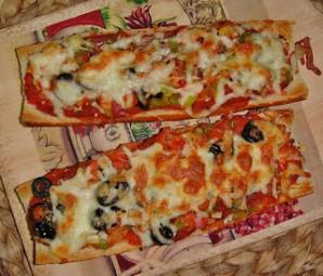 Пицца-багет - фото шаг 7