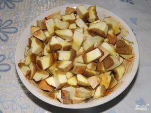 Солянка грибная на зиму с томатной пастой - фото шаг 2