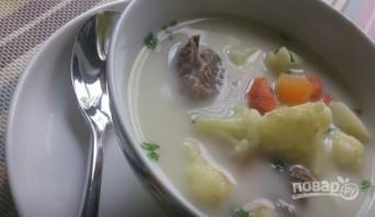 Сырный суп с говядиной - фото шаг 7