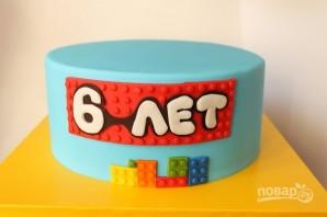 "Торт с человечками ""Лего"" - фото шаг 5"