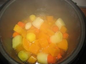 Суп из тыквы в мультиварке - фото шаг 3