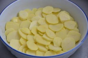 Картофельный гратен с беконом - фото шаг 3