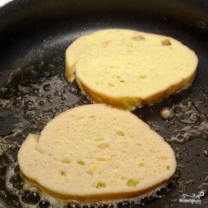 Французские тосты с сыром - фото шаг 7