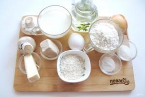 Духовые пирожки с грибами и рисом - фото шаг 1