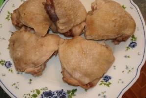 Салат куриный с грибами - фото шаг 1