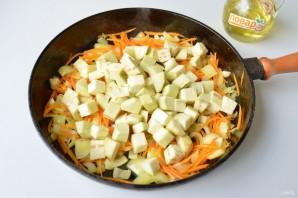 Рис с баклажанами и сладким перцем - фото шаг 3