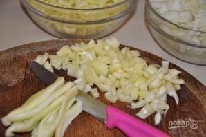 Салат на зиму с баклажанами и помидорами - фото шаг 2
