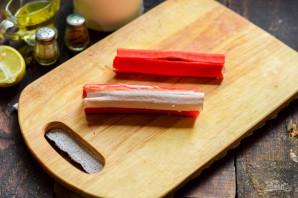 "Салат ""Маяк"" с корейской морковкой - фото шаг 4"