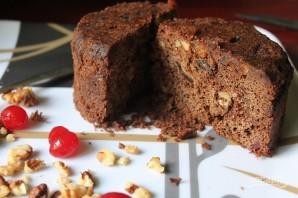 Шоколадно-ореховый пирог за 15 минут - фото шаг 11