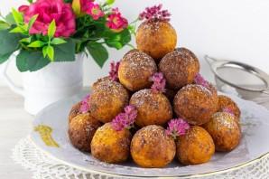 Творожные пончики с корицей - фото шаг 6