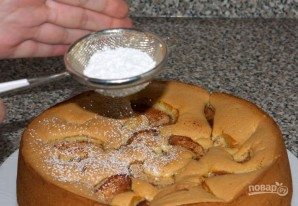 Зимний пирог с яблоками - фото шаг 8