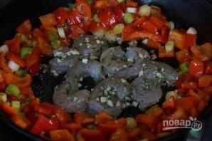 Салат из кальмаров с креветками - фото шаг 3