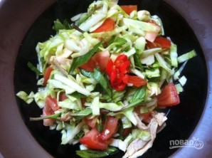 Вьетнамский куриный салат - фото шаг 5