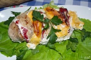 Мясо под сметанным соусом в духовке - фото шаг 4