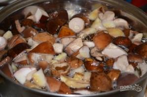 Соленые белые грибы - фото шаг 3