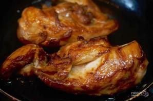Блинчики с курицей и маскарпоне - фото шаг 3