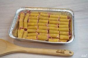 Макароны, фаршированные фаршем и сыром, в духовке - фото шаг 3