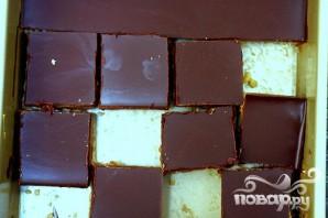 Пирожные с арахисовым маслом и воздушным рисом - фото шаг 5