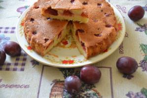 Кекс со сливами - фото шаг 10
