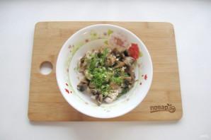 """Салат """"Жареные грибы"""" - фото шаг 8"""