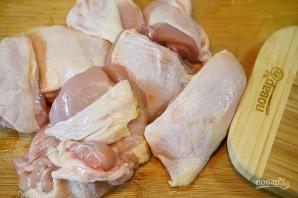 Курица в сидре с яблоками - фото шаг 1