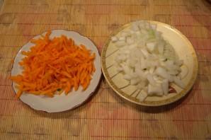Гороховый суп с охотничими колбасками - фото шаг 1