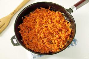 Пирог с морковью и яйцом - фото шаг 9