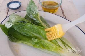 Салат романо на гриле - фото шаг 2