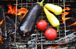 Овощи по-армянски на костре - фото шаг 3