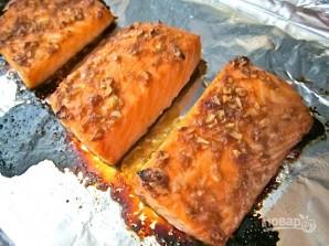Лосось в духовке с соевым соусом и имбирем - фото шаг 6