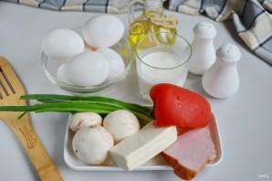 Быстрый омлет в духовке - фото шаг 1