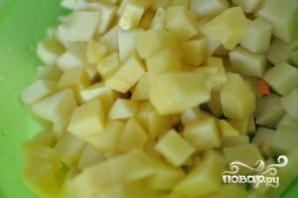 Гороховый суп с копченой курицей - фото шаг 1