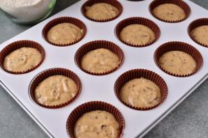 Маффины с арахисовой пастой - фото шаг 7