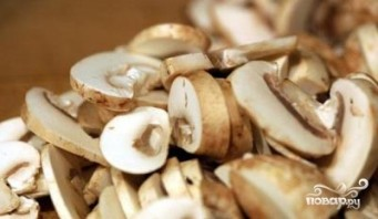 Гречка с грибами в мультиварке - фото шаг 3
