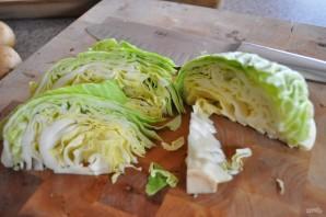 Картофель с капустой в духовке - фото шаг 2