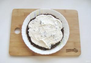 Шоколадный торт с черносливом и орехами - фото шаг 14