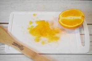 Оладьи с апельсиново-брусничным пряным соусом - фото шаг 4