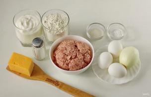 Пирог с тефтелями - фото шаг 1