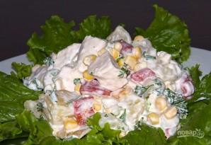 Салат из ананасов - фото шаг 7