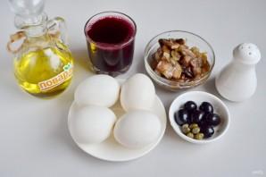 Яйца, фаршированные на праздник - фото шаг 1