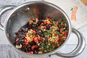 Суп из черной фасоли - фото шаг 5