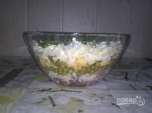 Салат с тунцом и пекинской капустой - фото шаг 7