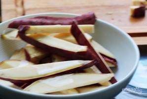 Закуска из батата с гуакамоле - фото шаг 3