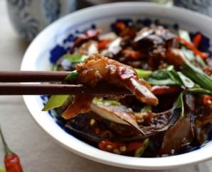 Жареные баклажаны по-китайски - фото шаг 7