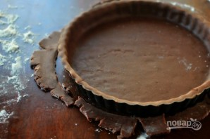 Песочное шоколадное тесто - фото шаг 5