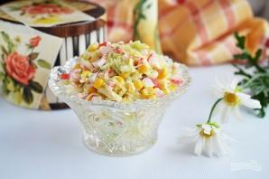 Салат из капусты с крабовыми палочками - фото шаг 6