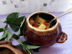 Овощное рагу в горшочках - фото шаг 12